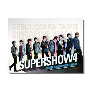 SUPER JUNIOR World Tour「Super Show 4」コンサートフォトブック|shopchoax2