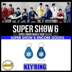 SUPERJUNIOR(スーパージュニア)-キーリング SUPERJUNIOR WORLD TOUR SUPERSHOW 6 アンコールコンサート 公式グッズ|shopchoax2