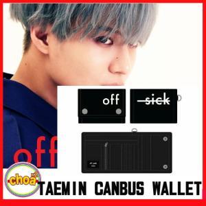 テミン TAEMIN [off sick] キャンバス 財布 SEOUL JAMSIL ARENA CONCERT GOODS- shinee taemin official goods|shopchoax2