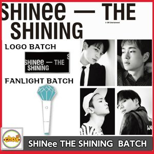 [SHINee] THE SHINING バッチ MINI LIGHT,LOGO 2018 SHINee SPECIAL PARTY OFFICIAL GOODS|shopchoax2