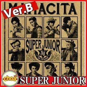 SUPER JUNIOR 正規7集 MAMACITA Ver.B (アヤヤ)|shopchoax2