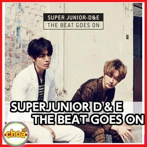 SUPERJUNIOR ドンへ&ウニョク 韓国初アルバム D&E The Beat Goes On DONGHAE & EUNHYUK |shopchoax2