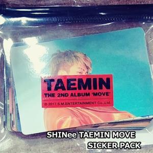 テミン (TAEMIN) MOVE SICKER PACK sum shinee taemin official shopchoax2