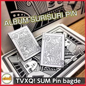 東方神起 [ SUM:TVXQ! ] ピンバッチ ALBUM SURISURI PIN 公式グッズ shopchoax2
