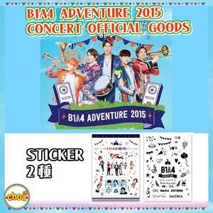 B1A4 ステッカーセット  [B1A4 ADVENTURE 2015]  公式グッズ|shopchoax2