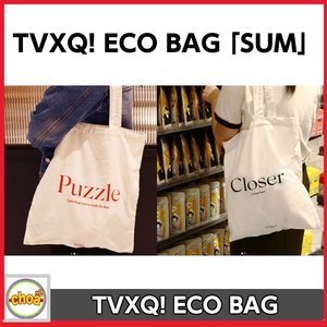 東方神起 TVXQ! ECO BAG「TVXQ! 8集 NEW CHAPTER #1: The Chance of Love GOODS 」Puzzle(UKNOW) Closer(MAX)|shopchoax2