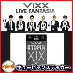 VIXX ビックス キュービックステッカー  LIVE FANTASIA UTOPIA 公式コンサートグッズ|shopchoax2