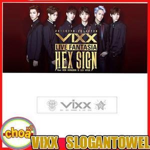 VIXX (ビックス)公式応援タオル/ VIXX LIVE FANTASIA HEX SIGN 公式グッズ|shopchoax2