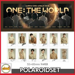 WANNA ONE POLAROIDSET 【 Wanna One World Tour [ONE : THE WORLD] in Seoul】 OFFICIAL グッズ|shopchoax2