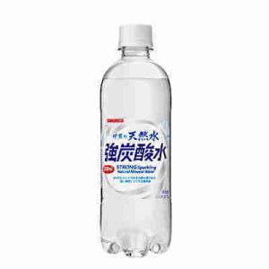 送料無料 伊賀の天然水 強炭酸 サンガリア 500ml 24本×2ケース|ショップダイヘイPayPayモール店