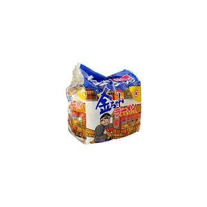 送料無料 金ちゃんラーメン 徳島製粉 5食パック 6個入り