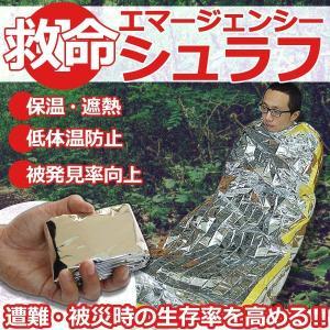 低体温防止 保温 エマージェンシーシュラフ 寝袋 防災 キャンプ アウトドア ET-EMAS|shopeast