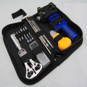 腕時計 修理工具 16点セット 時計 電池交換 ベルト調整 TOKEI14-C shopeast