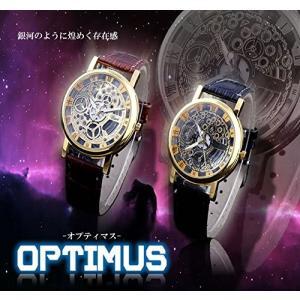 腕時計 オプティマス 時計 ウォッチ フォーマル メンズ 高級 文字盤 カジュアル ブラック ET-OPTIMUS|shopeast