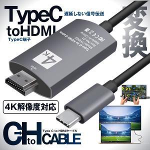 【4K解像度対応】4K対応のHDMIディスプレイやビデオソースに対応し、USB-CをHDMIに変換す...