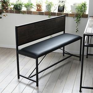 ダイニングベンチ 背もたれ付き 二人掛け 木製 北欧 椅子 チェア ベンチ イス シンプル モダン 木製 天然木 ウッド インテリア おしゃれ shopfamous