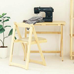 机 椅子 セット おしゃれ 折りたたみ ナチュラル デスク チェア 木製 完成品 仕事机 作業台 簡易デスク リビング 来客用 1人暮らし 新生活|shopfamous