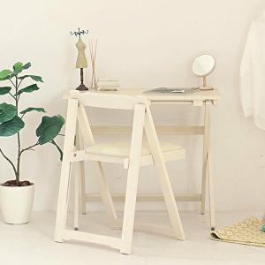 机 椅子 セット おしゃれ 折りたたみ ホワイト デスク チェア 木製 完成品 仕事机 作業台 簡易デスク リビング 来客用 1人暮らし 新生活|shopfamous