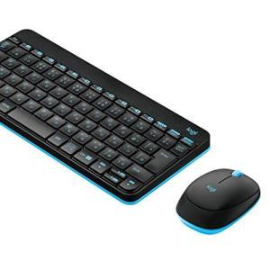 Logicool ロジクール MK245nBK ワイヤレスキーボード ワイヤレスマウス セット 無線...