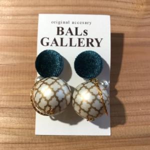 【BALs GALLERY】 モロッカン ピアス 【メール便対応】|shopfreddo