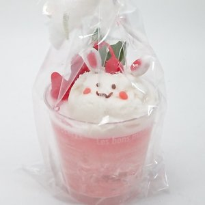 【komama】 クリームソーダキャンドル ミニ ピンク k02-001|shopfreddo