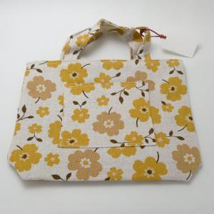 【Nana.Co】 ワンマイルトート 黄色 【メール便対応】|shopfreddo
