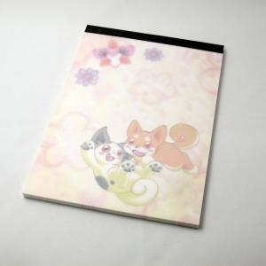 【ポカポカ☆ロッジ】 メモ帳 キリン p03-016 【メール便対応】|shopfreddo