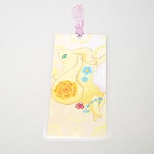 【ポカポカ☆ロッジ】 しおり 黄うさぎ p03-040 【メール便対応】|shopfreddo