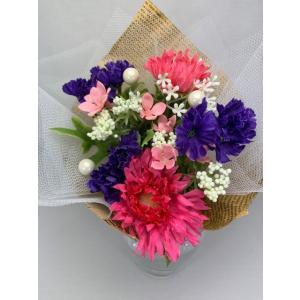 アーティフィシャルフラワー 母の日 プレゼント ギフト インテリア【シェリハウス】花束|shopfreddo
