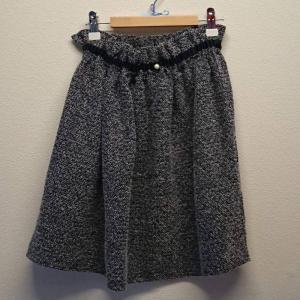 【Saana Gallery】 キッズスカート グレー s03-030 【メール便対応】|shopfreddo