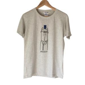 【TOYZ PET】 IKASU Tシャツ オートミール 【メール便対応】|shopfreddo