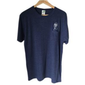 【TOYZ PET】 ポケットレスラー Tシャツ ヴィンテージヘザーネイビー 【メール便対応】|shopfreddo