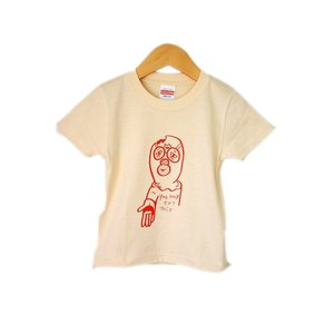 【TOYZ PET】 食べていいよ! キッズTシャツ ナチュラル 【メール便対応】|shopfreddo