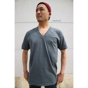 再スタート 【 2枚までメール便対応 】 アメリカン アパレル Vネック 2456 AMERICAN APPAREL アメアパ  Tシャツ shopidm 06