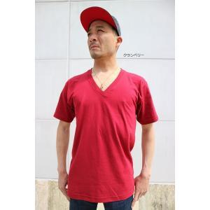 再スタート 【 2枚までメール便対応 】 アメリカン アパレル Vネック 2456 AMERICAN APPAREL アメアパ  Tシャツ shopidm 08