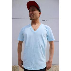再スタート 【 2枚までメール便対応 】 アメリカン アパレル Vネック 2456 AMERICAN APPAREL アメアパ  Tシャツ shopidm 09