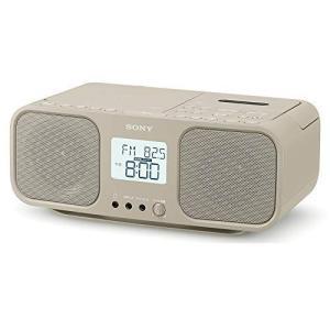ソニー CDラジオカセットレコーダー CFD-S401 : FM/AM/ワイドFM対応 大型液晶/カ...