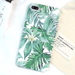 8b7894322b iPhone ケース カバー x 10 8 7 6 6s plus ボタニカル柄 リーフ柄 オシャレ sd-0140