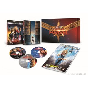 キャプテン・マーベル 4K UHD MovieNEXプレミアムBOX(数量限定)【4K ULTRA ...