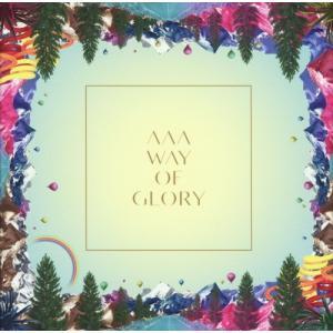 AAA WAY OF GLORY 初回限定盤 CD+DVD+ブランケット+スマプラ付【土日祝日も12時迄にご決済完了で当日出荷】ヤマト宅急便】