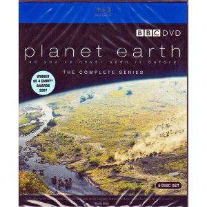プラネットアース Planet Earth 5枚組BOX Blu-ray BOX(Planet Earth: Complete BBC Series) UK版【新品】【在庫あり】