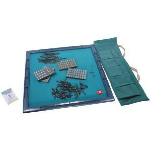 JUNK MAT(ジャンクマット)黒牌セット 麻雀マット&麻雀牌セット/マージャン|shopkazu