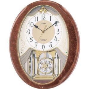 アミュージングクロック 電波掛時計 パルミューズクリスタB 4MN400-B23|shopkazu