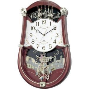 アミュージングクロック 電波掛時計 パルミューズロンドB 4MN401-B23|shopkazu