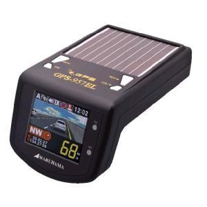 マルハマ/MARUHAMA カラーLCD/GPS ソーラーレーダー探知機 GPS-957EL 最新機能がワンボディに凝縮|shopkazu