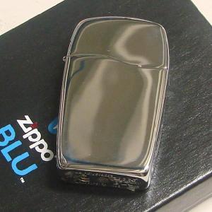 Zippo ジッポ BLU ブルー ガスライターハイポリッシュクロム  BLU GAS LIGHTER HI POLISH CHRM 30039|shopkazu