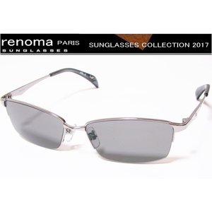 renoma(レノマ)サングラス 2017年モデル グレーオール 1140-COL-2|shopkazu