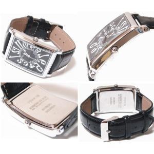 フランク三浦 Frank MIURA 逆回転 初号機(新)腕時計 ユニセックス FM01G-B 完全非防水|shopkazu|02