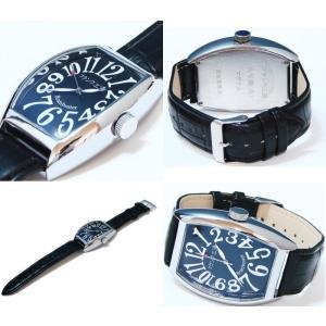 フランク三浦 復活!!新もでる六号機(改)マグナム Frank MIURA 腕時計 ハイパーブラック FM06K-B |shopkazu|03