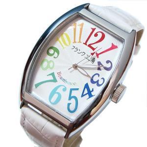 フランク三浦 復活!!新もでる六号機(改)マグナム  Frank MIURA 腕時計 レインボーホワイト FM06K-CRW |shopkazu